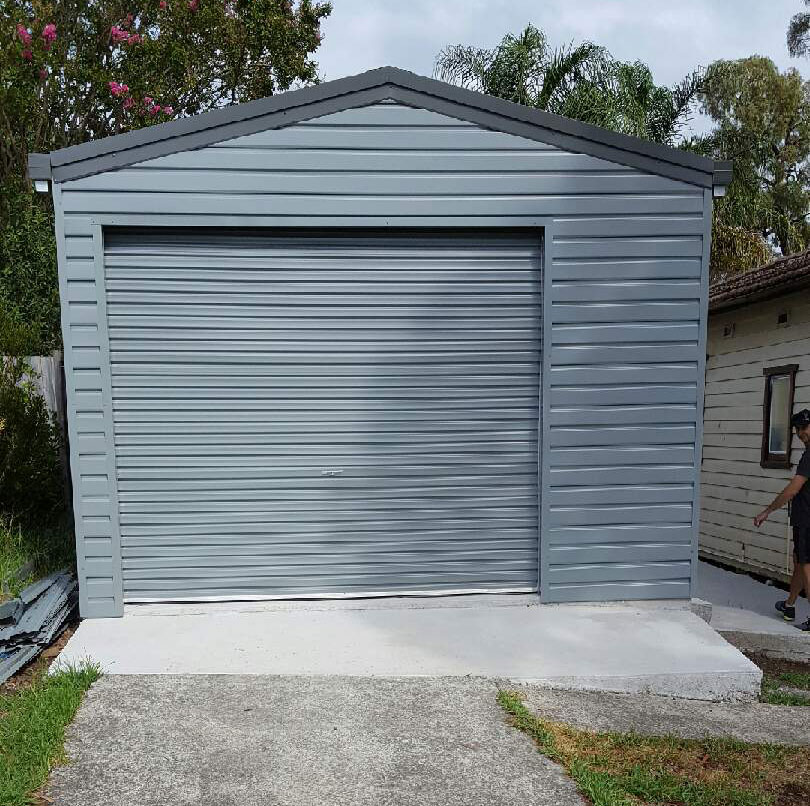 Offset garage door (not centered)